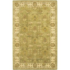 Buy Chandra Rugs Adonia Hand-Tufted Traditional Yellow Rug - ADO902 on sale online