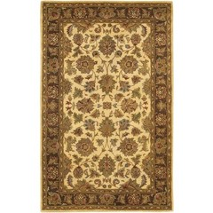 Buy Chandra Rugs Adonia Hand-Tufted Traditional Yellow Rug - ADO907 on sale online