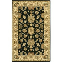 Buy Chandra Rugs Adonia Hand-Tufted Traditional Yellow Rug - ADO909 on sale online
