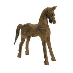 Buy IMAX Worldwide Albazia Wood Carved Horse on sale online