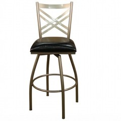 Buy American Heritage Alexander 24 Inch Counter Height Stool in Silver on sale online