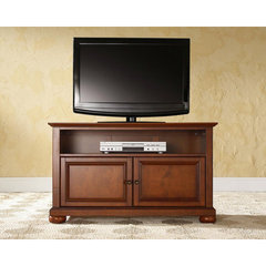 Buy Crosley Furniture Alexandria 42x18 TV Stand in Classic Cherry on sale online