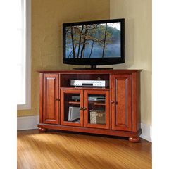 Buy Crosley Furniture Alexandria 48x18 Corner TV Stand in Classic Cherry on sale online