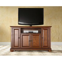 Buy Crosley Furniture Alexandria 48x18 TV Stand in Classic Cherry on sale online