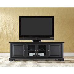 Buy Crosley Furniture Alexandria 60 Inch Low Profile TV Stand in Black on sale online