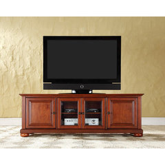 Buy Crosley Furniture Alexandria 60x18 Low Profile TV Stand in Classic Cherry on sale online