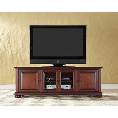 Buy Crosley Furniture Alexandria 60x18 Low Profile TV Stand in Vintage Mahogany on sale online