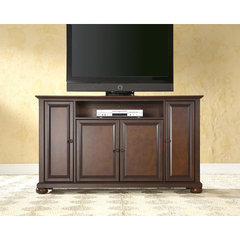 Buy Crosley Furniture Alexandria 60x18 TV Stand in Vintage Mahogany on sale online