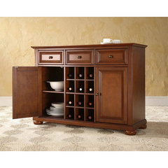 Buy Crosley Furniture Alexandria Buffet Server w/ Storage in Classic Cherry on sale online
