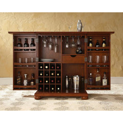 Buy Crosley Furniture Alexandria Expandable Bar Cabinet in Classic Cherry on sale online