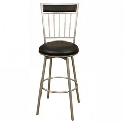 Buy American Heritage Alliance 24 Inch Counter Height Stool in Silver on sale online