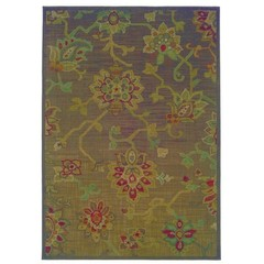 Buy Oriental Weavers Sphinx Allure Casual Brown Rug - ALL-054C1 on sale online