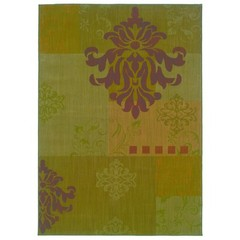 Buy Oriental Weavers Sphinx Allure Casual Green Rug - ALL-055B1 on sale online