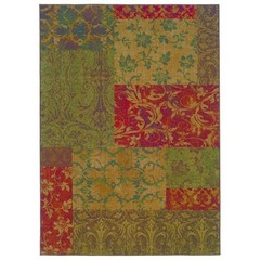 Buy Oriental Weavers Sphinx Allure Casual Green Rug - ALL-058B1 on sale online