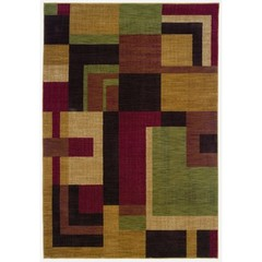 Buy Oriental Weavers Sphinx Allure Contemporary Red Rug - ALL-009A1 on sale online