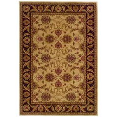 Buy Oriental Weavers Sphinx Allure Traditional Beige Rug - ALL-008F1 on sale online