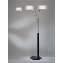 Buy NOVA Lighting Amarillo Silver 3-Light Arc Lamp on sale online