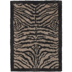 Buy Chandra Rugs Amazon Hand-Woven Contemporary Brown Rug - AMA5600 on sale online