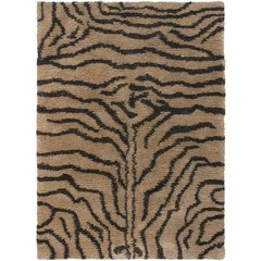 Buy Chandra Rugs Amazon Hand-Woven Contemporary Brown Rug - AMA5601 on sale online