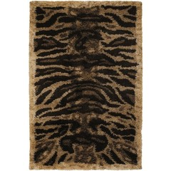 Buy Chandra Rugs Amazon Hand-Woven Contemporary Brown Rug - AMA5603 on sale online