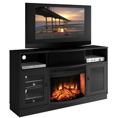 Buy Furnitech Ambience 64 inch TV Media Console w/ 25 inch Electric Fireplace on sale online