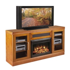 Buy Furnitech Ambience 70 inch TV Media Console w/ 25 inch Electric Fireplace on sale online