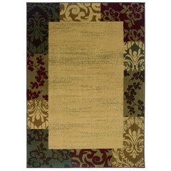 Buy Oriental Weavers Sphinx Amelia Casual Beige Rug - AME-2166J on sale online