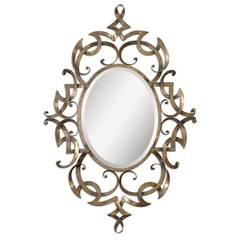 Buy Uttermost Ameno 31x46 Oval Wall Mirror on sale online