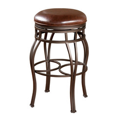 Buy American Heritage Bella 26 Inch Backless Counter Stool in Bourbon on sale online