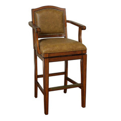 Buy American Heritage Martinique 30 Inch Bar Stool in Cona on sale online
