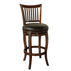 Buy American Heritage Maxwell 26 Inch Counter Stool in Brown on sale online