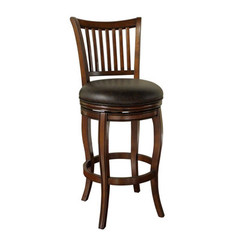 Buy American Heritage Maxwell 34 Inch Bar Stool in Brown on sale online