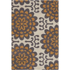 Buy Chandra Rugs Amy Butler Hand-Tufted Designer Orange Rug - AMY13201 on sale online