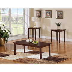 Buy Steve Silver Angel 3 Piece Occasional Table Set in Cherry on sale online