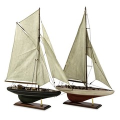 Buy IMAX Worldwide Antiqued Sailing Vessels (Set of 2) on sale online
