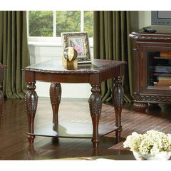 Buy Steve Silver Antoinette 28x26 End Table in Rich Cherry on sale online