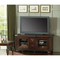 Buy Steve Silver Antoinette 60 Inch TV Stand in Rich Cherry on sale online