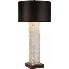 Buy Trend Lighting Apex Opaque Black Linen Shade 36.5 Inch Table Lamp on sale online