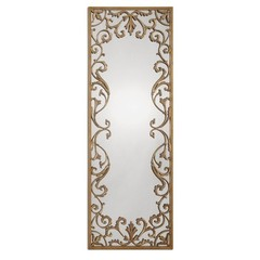 Buy Uttermost Apricena 24.5x68 Rectangular Wall Mirror on sale online