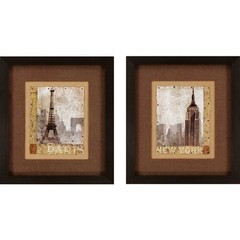 Buy Paragon April/Autumn 23x26 Framed Wall Art (Set of 2) on sale online