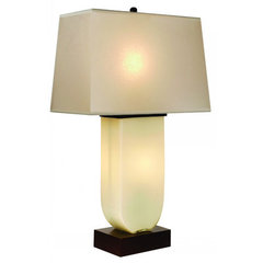 Buy Trend Lighting Aramis Opal Glass 32 Inch Table Lamp on sale online