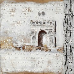 Buy Paragon Arc de Triomphe 31x31 Framed Wall Art  on sale online