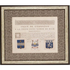 Buy Paragon Armes and Crests II Framed Wall Art (Set of 2) on sale online