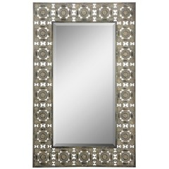 Buy Cooper Classics Ashville Mirror in Distressed Bronze on sale online