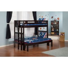Buy Atlantic Furniture Cascade Bunk Bed Twin over Full in an Espresso Finish on sale online