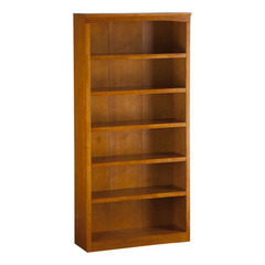 Buy Atlantic Furniture Harvard 72 Inch Bookshelf in Caramel Latte on sale online