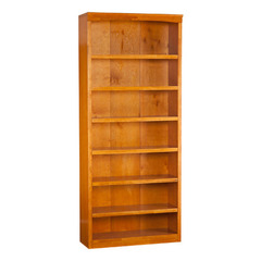 Buy Atlantic Furniture Harvard 84 Inch Bookshelf in Caramel Latte on sale online