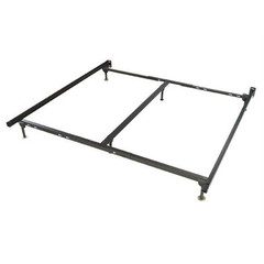Buy Atlantic Furniture Urban Lifestyle Metal Bed Frame Twin and Full w/ Glides on sale online