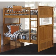 Buy Atlantic Furniture Nantucket Bunk Bed in Caramel Latte on sale online