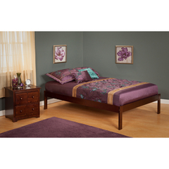Buy Atlantic Furniture Urban Lifestyle Concord Twin Size Bed w/ Open Foot Rail on sale online